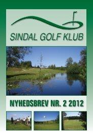 NYHEDSBREV NR. 2 2012 - Sindal Golf Klub