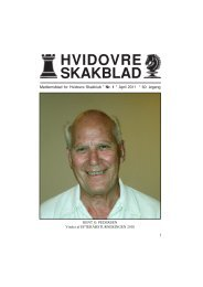 Klubblad nr. 1, April 2011 - Hvidovre Skakklub