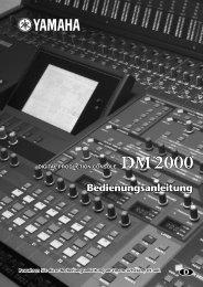 DM2000_G O/M - Yamaha