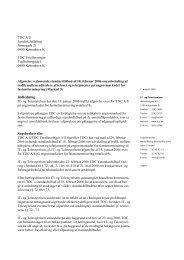 Endelig afgørelse.07.08.07 - IT- og Telestyrelsen
