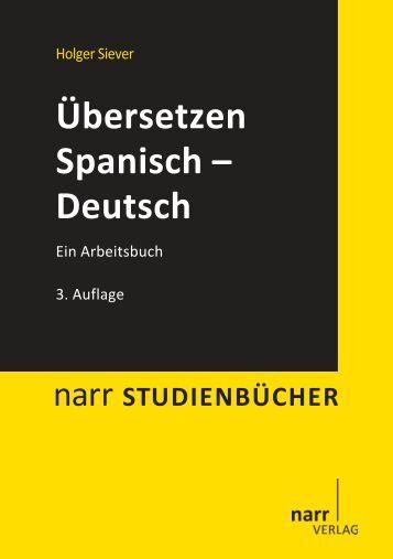 Übersetzen Spanisch-Deutsch - Narr