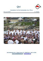 Juni 2010 - De grønlandske huse i Danmark