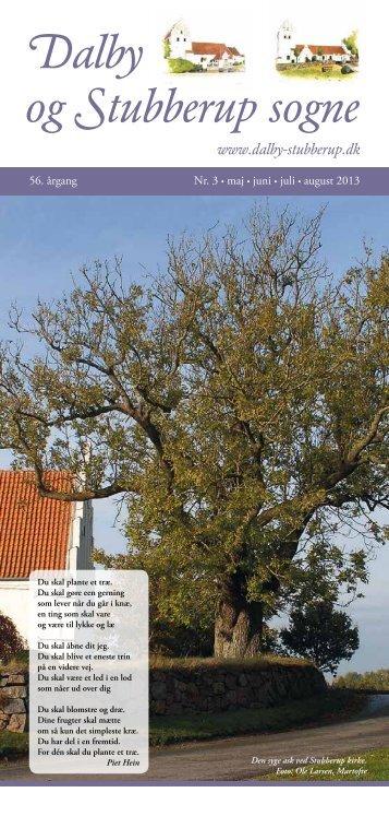 Dalby og Stubberup sognes hjemmeside