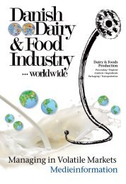 Managing in Volatile Markets - Danish Dairy & Food Industry