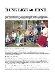 Download pressemeddelelsen som pdf - Golden Days Festival