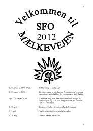 Virksomhedsplan 2012 - Skoleporten - Grindsted Søndre Skole