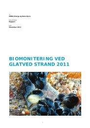 BIOMONITERING VED GLATVED STRAND 2011 - Reno Djurs
