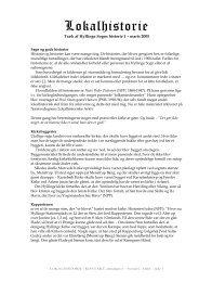 Nummer 1 - marts 2005, Sagn om præst og kirke - Hyllinge