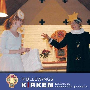Kirkekalender december 2012 - januar 2013 - Møllevangskirken
