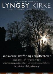 Lyngby kirkeblad jan - apr 2009