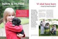 Børn & hunde - Dansk Kennel Klub