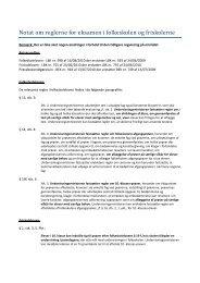 Notat om reglerne for eksamen i folkeskolen og ... - Diabetes.dk