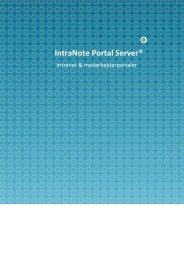 IntraNote Portal Server