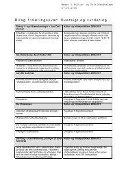 Bilag 1:Høringssvar: Oversigt og vurdering - Holberg