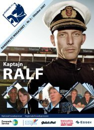 oktober 2007 - Randers FC