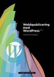 Webbpublicering med WordPress - Tdh