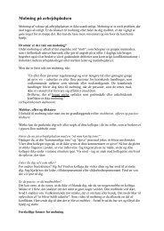 [pdf] Mobning på arbejdspladsen