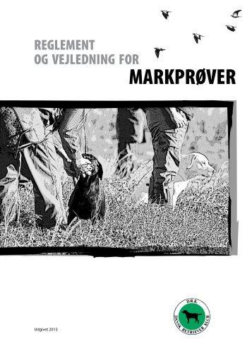 Markprøvereglement - Dansk Retriever Klub