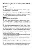 Markprøvereglement - Dansk Retriever Klub - Page 3