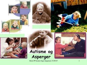 Autisme og Asperger - Skien kommune