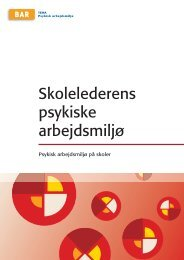 45. 42. Skolelederens psykiske arbejdsmiljø.indd - Arbejdsmiljoweb.dk