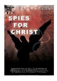 Spies for Christ program - Rockmusicals