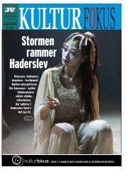 Stormen rammer Haderslev - Kulturfokus