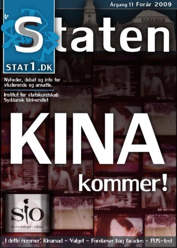 Forår 2009, årgang 11, nr. 1 - STATEN