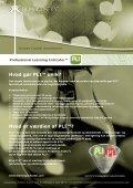 Hvorfor PLI™? Hvad er PLI™? Hvordan administreres PLI™? - Page 2
