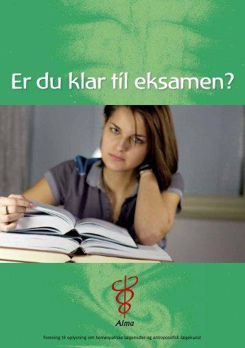 Er du klar til eksamen? - Alma