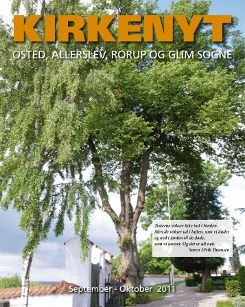 Kirkenyt 2011 - Rorup & Glim kirkers hjemmeside
