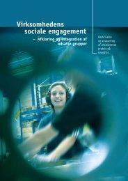 Virksomhedens sociale engagement, afklaring ... - bifrost - konsulent