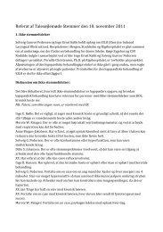 Referat fra talesøjlemøde stemmer 10.nov. 2011 - tahosy