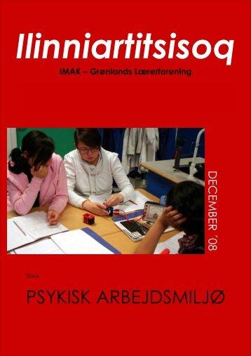 PSYKISK ARBEJDSMILJØ - Lærernes fagforening i Grønland