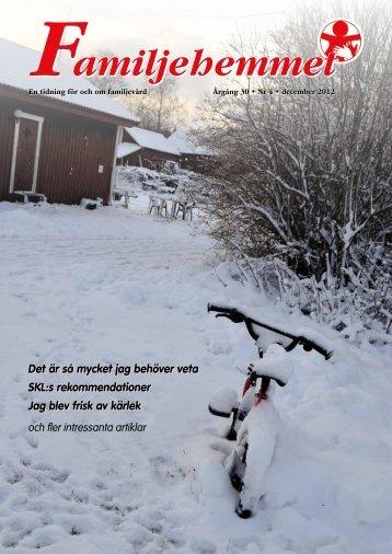 Hela tidningen - Familjehemmens Riksförbund