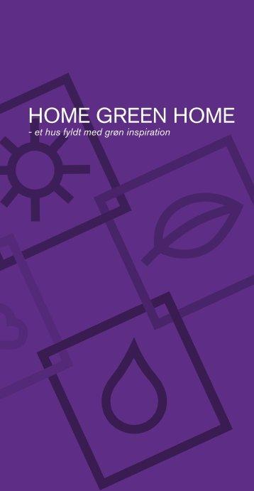 Home Green Home-katalog