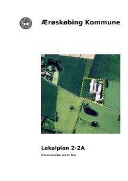 2-2 A for et erhvervsområde ved St. Rise - Ærø kommune