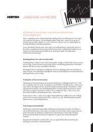 Ændring af renteloven - Horten