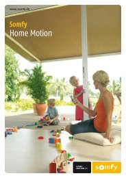 Home Motion - Somfy Nordic AB