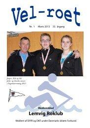 Du kan nu læste Velroet for marts 2013 - Lemvig Roklub