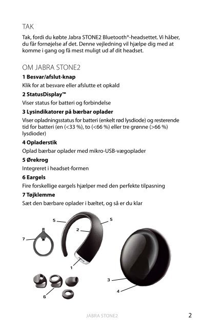 Jabra® Stone2 - FDM netbutik