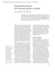 artikel fra tidsskriftet BILLEDKUNST, nr. 2, oktober 2009 - se pdf