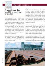 Arbejdet med den nye 800 m lange kaj er startet - Århus Havn