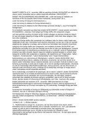 RAADETS DIREKTIV af 24 . november 1988 om ... - Handboka.no