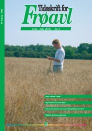 Juni - Juli 2005 · nr. 6 - DLF-TRIFOLIUM Denmark