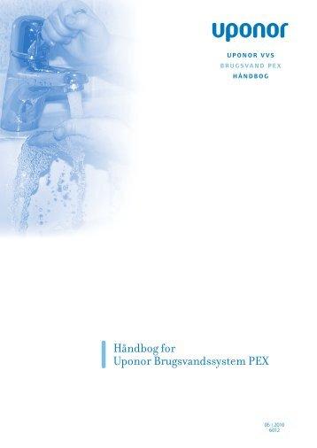 Håndbog for Uponor Brugsvandssystem PEX