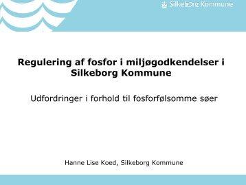 Regulering af fosfor i miljøgodkendelser i Silkeborg Kommune