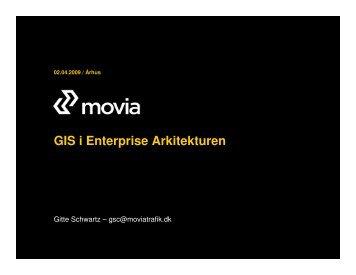GIS i Enterprise Arkitekturen