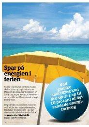 Spar på energien i ferien - Energiforum Danmark