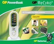 GP Chargers and NiMH batteries